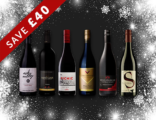 CHRISTMAS WINE CASES FROM THE NEW ZEALAND HOUSE OF WINE